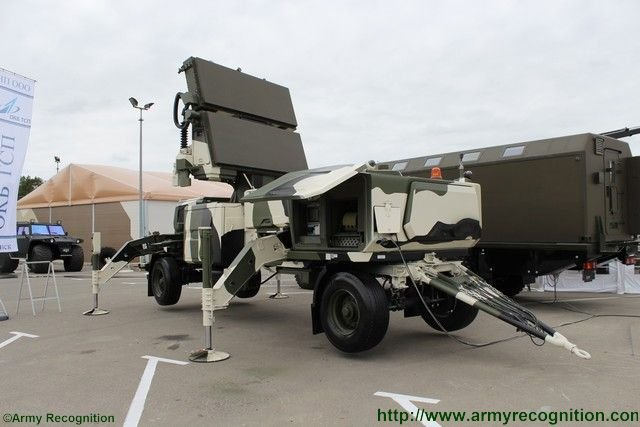 ADEX 2016 OKB TSP discloses new RADAR 50 air defense radar station 640 001