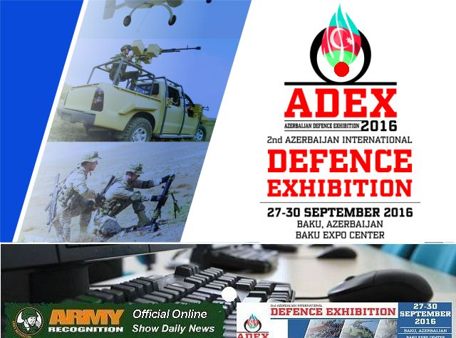 Army Recognition appointed by ADEX 2016 organizers as Official Online Show Daily and Official Web TV 640 002