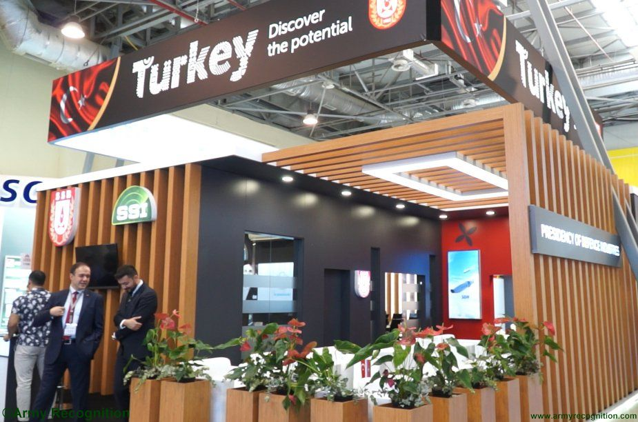 Turkish Defense industry biggest foreign pavillon at ADEX 2018