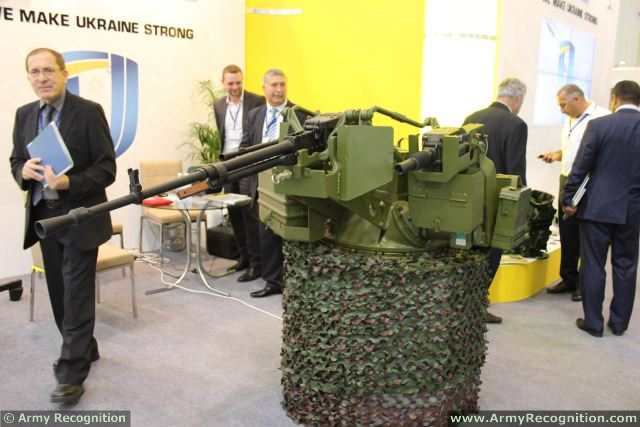 New combat module 'Blik-2' designed for armored vehicles was presented on the exhibition stand of 'Ukroboronprom' in the framework of its participation at ADEX-2014, the 1st Azerbaijan International Defence Industry Exhibition which takes place in Baku from the 11 to 13 September 2014.