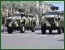 New armoured vehicles Marauder and Matador jointly produced by the Azeri Ministry of Defence Industries and Paramount Group, Africa's largest privately owned defence company, have taken pride of place in Azerbaijan's 20th anniversary independence parade, on Sunday 26th June in Azadlig Square, Baku, the capital of Azerbaijan.