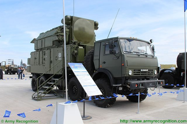 Tor-M2KM air defense missile system KADEX 2016 defense exhibition Astana Kazakhstan 001