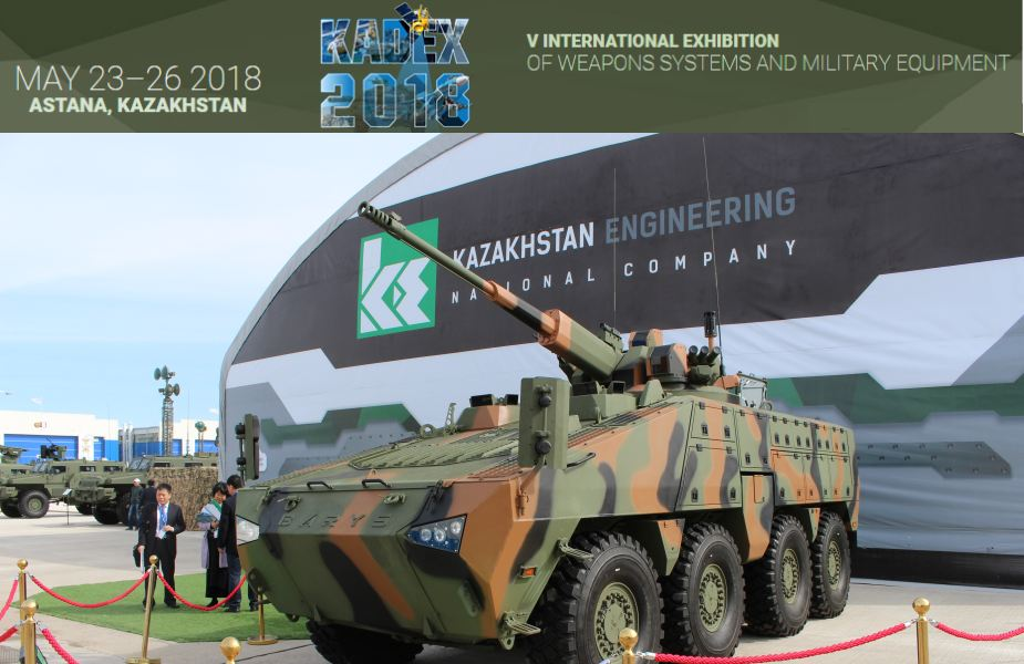 KADEX 2018 defense exhibition under the patronage of Kazakhstan MoD 925 001