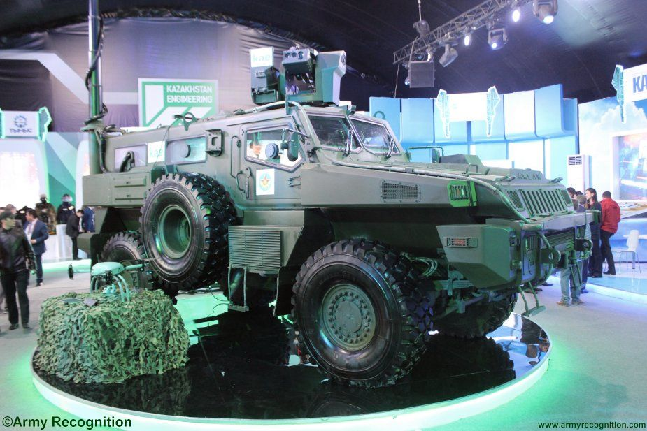 KPE Arlan 4x4 Reconnaissance Patrol Vehicle receives new upgrades 002