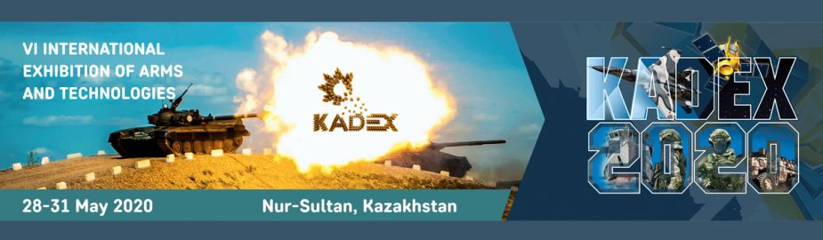 KADEX 2020 defence military exhibition Nur-Sultan Kazakhstan banner 925 001