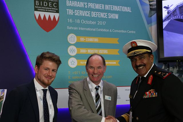 The BIDEC, the Bahrain International Defence Exhibition and Conference will be the first Tri-Service Defense Exhibition in the Middle East, an unique opportunity for the global defense and security industry to showcase latest technologies and innovation of military products. The event will be held in Manama, Bahrain International Exhibition & Convention Centre from the 16 to 18 October 2017.