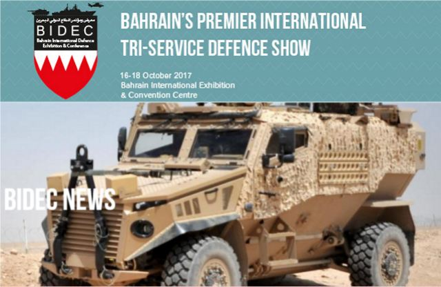 Five top reasons why BIDEC Tri-Service Defence Exhibition in Bahrain should be in your 2017 plans 640 002