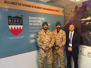 BIDEC 2017 news visitors exhibitors information Bahrain International International Defence Exhibition Manama army military defense industry technology