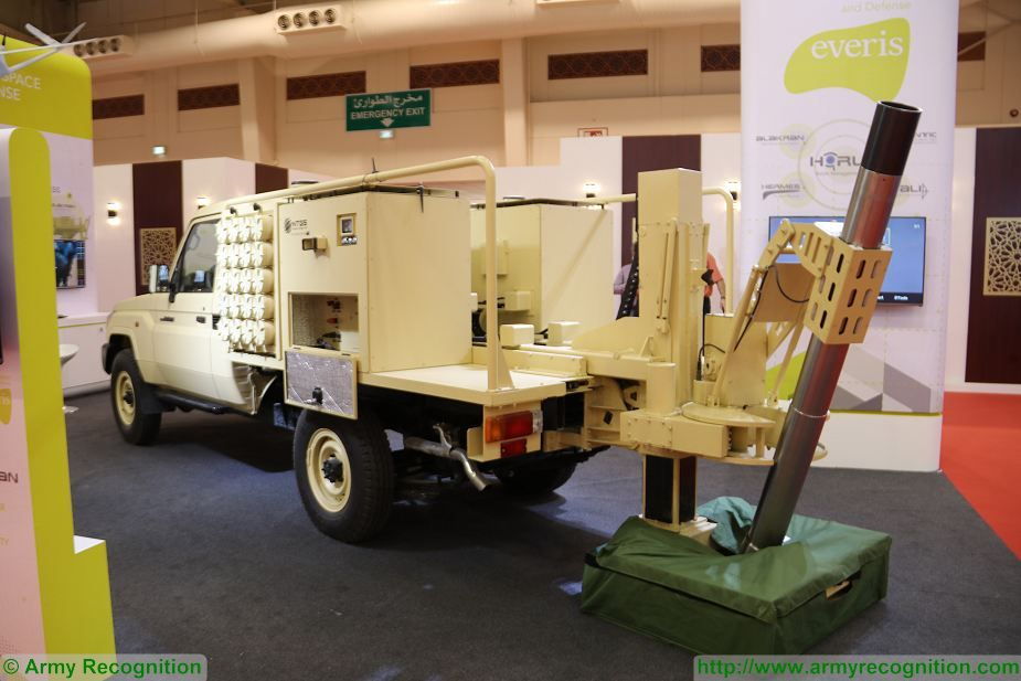 Alakran 120mm light mobile mortar system Everis Aerospace Defence BIDEC 2017 first edition of Bahrain defense Exhibition 925 002