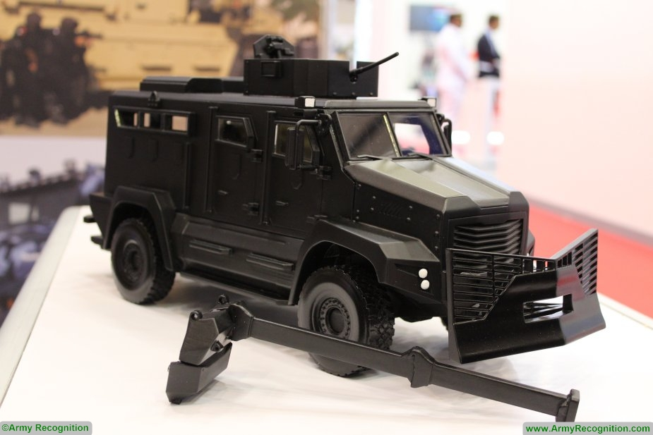 BIDEC 2017 Cambli promotes its Thunder 2 Armored Tactical Truck 925 001