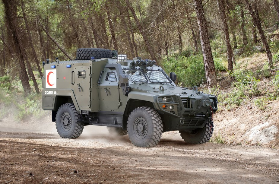 BIDEC 2019 Otokar to exhibit its COBRA II URAL and ARMA 6x6 925 001