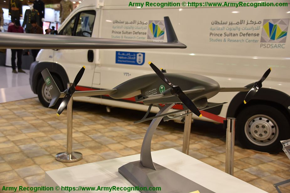 Saudi Arabia has developed a full range of UAVs including SH 01 VTOL BIDEC 2019 925 001