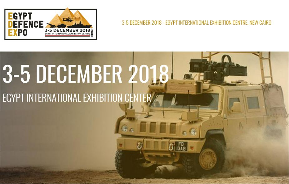 EDEX 2018 The event is fully suppored by Egyptian armed forces 925 001