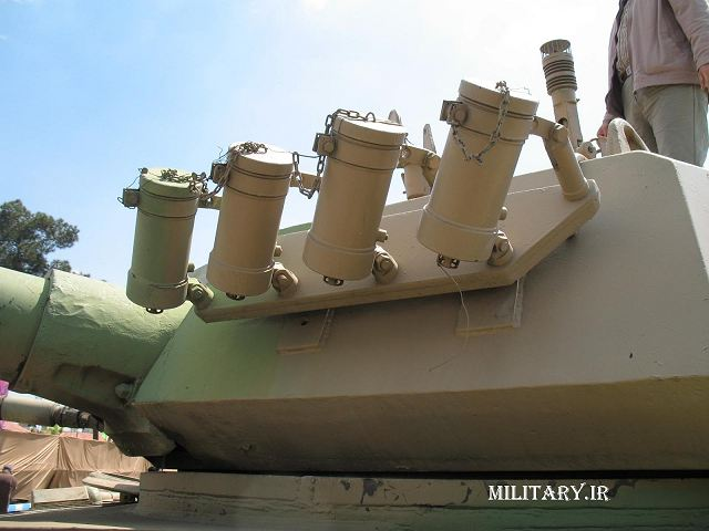 Zulfiqar Zolfaqar 1 main battle tank technical data sheet specifications description information intelligence identification pictures photos video air defence system Iran Iranian army defence industry military technology