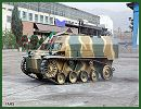 Howeize Sheni-dar light tracked armoured vehicle personnel carrier technical data sheet specifications description information intelligence identification pictures photos video Iran Iranian army defence industry military technology
