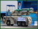 Iran's Islamic Revolution Guards Corps (IRGC) displayed a highly advanced air defense shield, called 'Ra'd', during military parades in Southern Tehran on Friday, September 21, 2012. According to IRGC Air Defense Unit, the highly-advanced home-made Ra'd (Thunder) air defense system is equipped with 'Taer' (Bird) missiles, which can trace and hit targets 50km in distance and 75,000f in altitude.