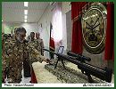 The Iranian Army Ground Force on Saturday, September 29, 2012 unveiled a new sniper rifle 14.5mm caliber called Shaher during a ceremony at the Research and Self-Sufficiency Jihad Organization of the Iranian Army.