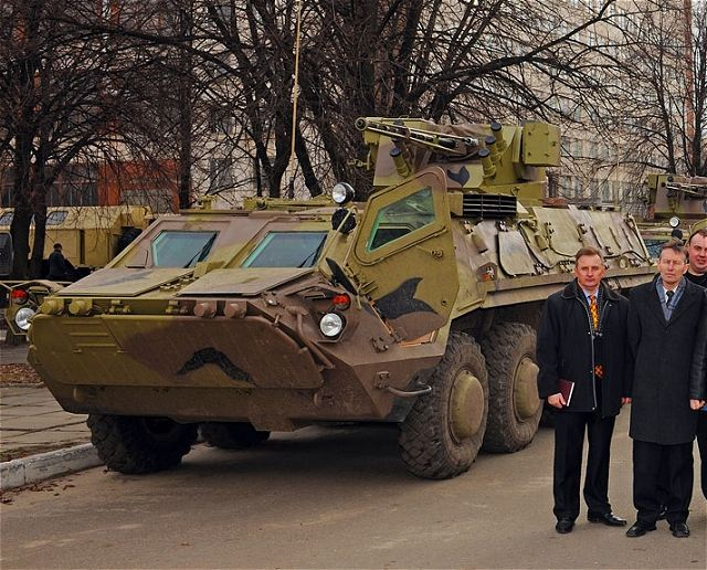 The State-owned Enterprise Kharkiv Morozov Machine Building Design Bureau shipped to its customer (the Ministry of Defence of the Republic of Iraq) the first batch of the BTR-4 armoured personnel carriers.