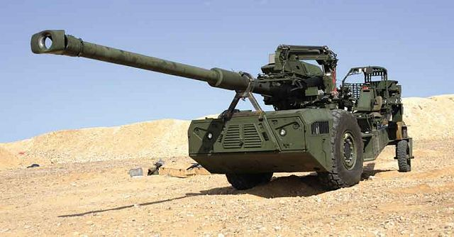 Israeli Company Elbit Systems to provide 12 155mm towed ...