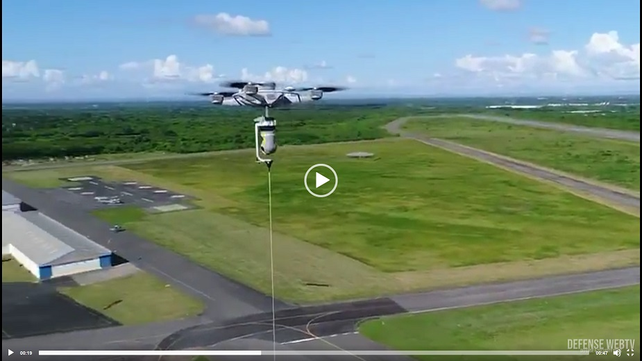 ISDEF 2019 Sky Sapience to present its tethered hovering technology VIDEO