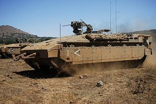 Namer infantry tracked armoured vehicle personnel carrier Israeli Army Israel left side view 003