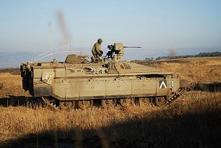 Namer infantry tracked armoured vehicle personnel carrier Israeli Army Israel right side view 002