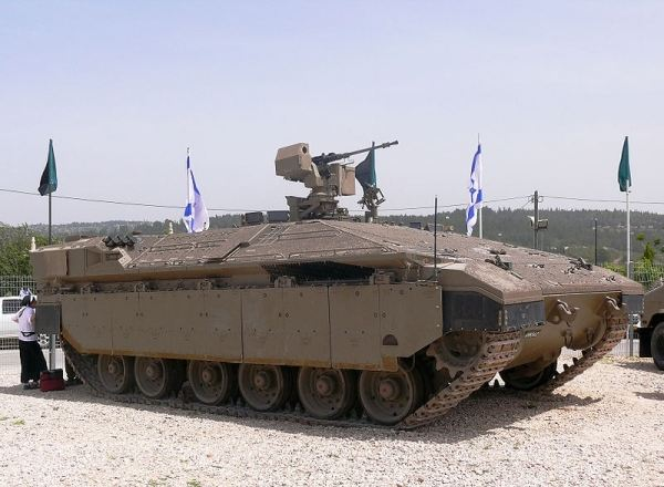 STERLING HEIGHTS, Mich. – General Dynamics Land Systems, a business unit of General Dynamics (NYSE: GD), has been selected to negotiate a contract with the Israeli Ministry of Defense for Merkava Armored Personnel Carriers (APC) Namer.