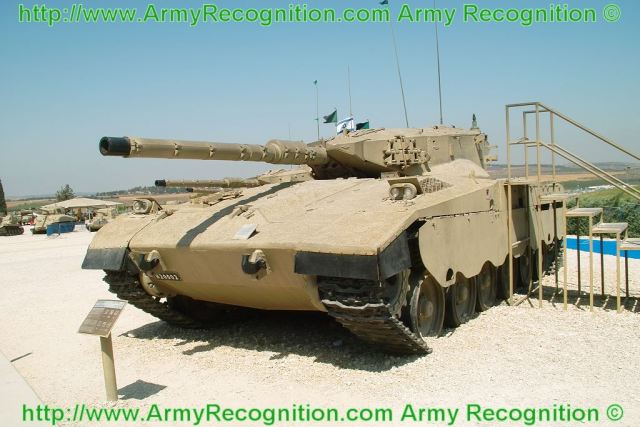 Israeli Merkava Mk-1 main battle tank