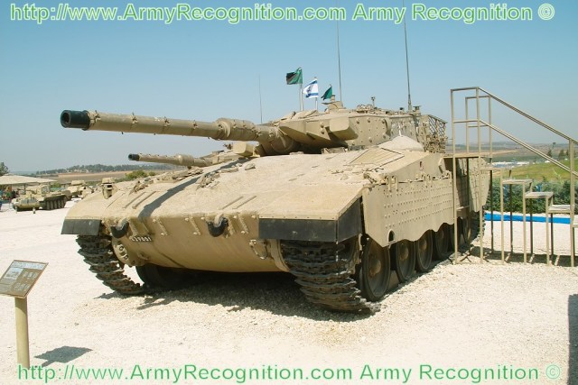 Israeli Merkava Mk-2 main battle tank