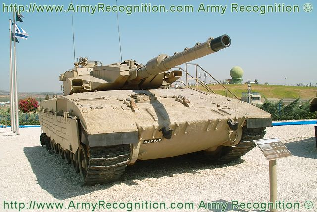 Israeli Merkava Mk-3 main battle tank