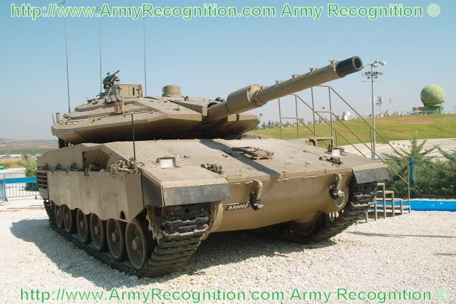 Merkava 4 IV main battle tank Israeli army Israel pictures technical data sheet specifications description identification IDF Israeli Defence Forces