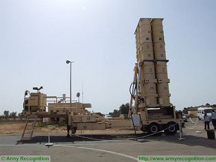 Arrow 2 anti-ballistic missile air defense technical data sheet specifications pictures video information description intelligence identification images photos Israel Israeli weapon industries army defence industry military technology