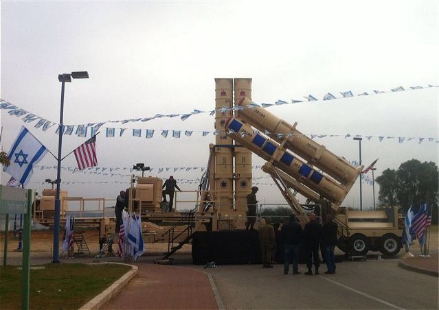 Arrow 3 long-range anti-ballistic air defense missile system Israel Israeli army defense forces military equipment 640 001