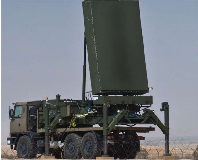 ELM-2084 S-Band MMR Multi-Mission Warning and fire control Radar Israel Israeli army defense industry 640 001