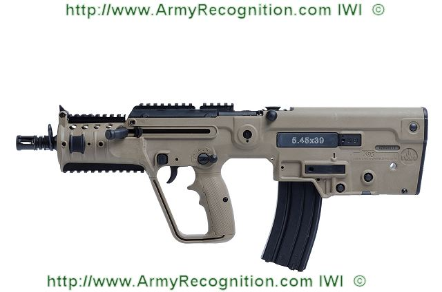 Israel Weapon Industries (IWI) is a leader in the production of combat-proven small arms for Governmental and Military entities as well as law enforcement agencies around the world. Continuously developing new capabilities, attributes, configurations, and applications, the company introduces its new conversion kit for the X95 assault rifle for 5.45mm-caliber ammunition - making it the only weapon in the world with 3 calibers: 5.56mm, 9mm, and 5.45mm. The weapons will be exhibited at Interpolitex in Moscow, October 23-26, 2012.
