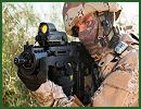 Israel Weapon Industries (IWI) – a leader in the production of combat-proven small arms for governments, armies and law enforcement agencies around the world at FIDAE 2012 with Assault Rifles including the X95, the TAVOR and ACE 5.56 families, and the NEGEV family of Light Machine Guns (LMGs) - including its newest model, the NEGEV NG7.