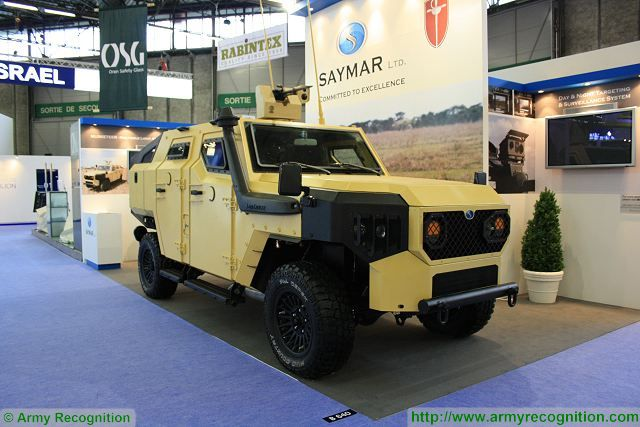 Saymar Musketeer 4x4 light armoured vehicle Israel Israeli defense industry military equipment 640 001