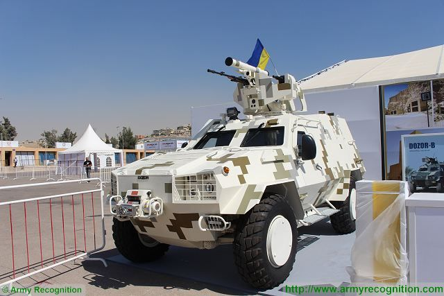 Dozor-B Ukraine Ukroboronprom SOFEX 2016 Special Operations Forces Exhibition with live demonstration 001