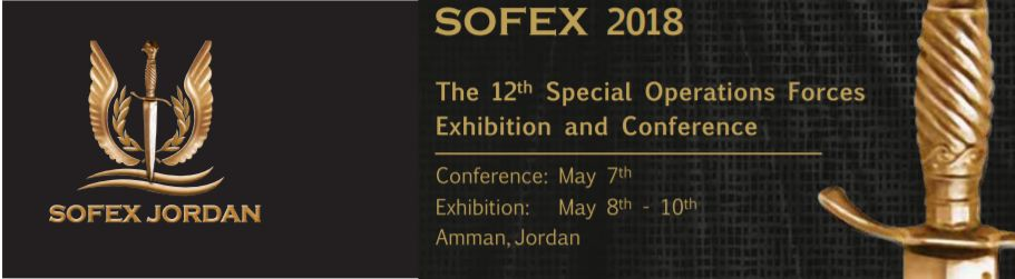 SOFEX 2018 Special Operations Forces Exhibition and Conference Amman Jordan banner 925 001