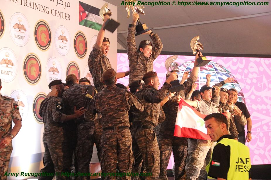 Black Panthers from Lebanon winner of Warrior Competition 2018 925 001