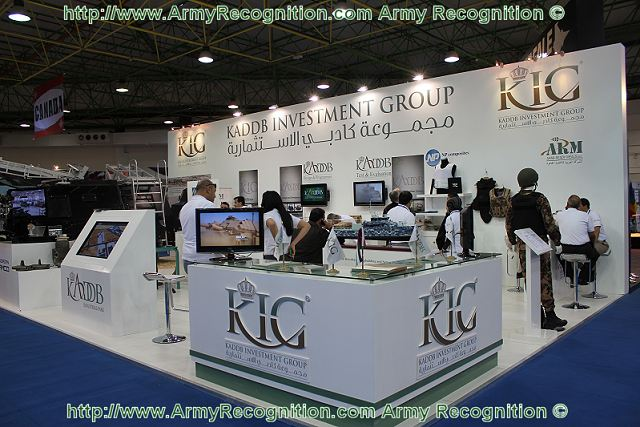 Exhibition Booth Structure : Jordanian defence industry at gda with the new