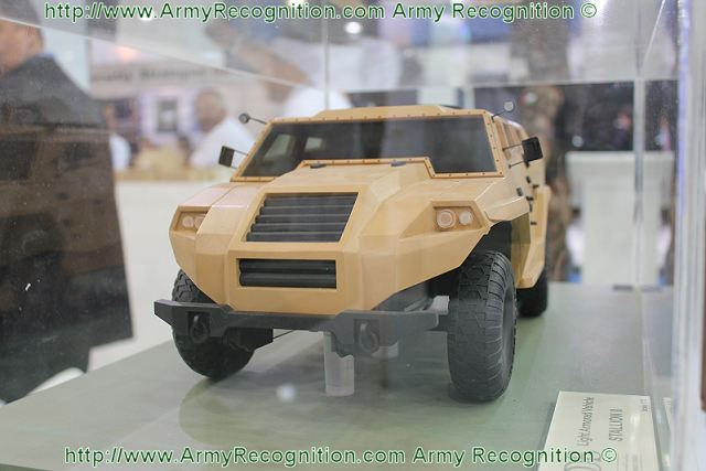 The Stallion II is new 4x4 light armoured vehicle under development by the Jordanian defence industry. The vehicle weighs approximately 7,000kg and is developed as a next-generation light mobility vehicle.