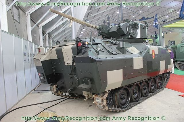 At SMES 2011, defence and security Middle East exhibition, the Lebanon armed forces present its latest acquisition of second hands military equipment and armoured vehicles, as the AIFV (Armoured Infantry fighting vehicle) offered by Belgium.