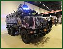 At Milipol Qatar 2012, the French Company Renault Trucks Defense presents the first delivery of its Higuard MRAP mine protected vehicle to the Qatari Internal Security Services. Qatar is to be the launch customer for Renault Trucks Défense's Higuard mine-resistant ambush-protected (MRAP)-style vehicle.
