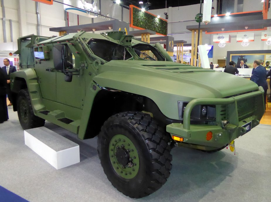 IDEX 2019 Thales Australia announced Hawkei NGPV in production for Australian army