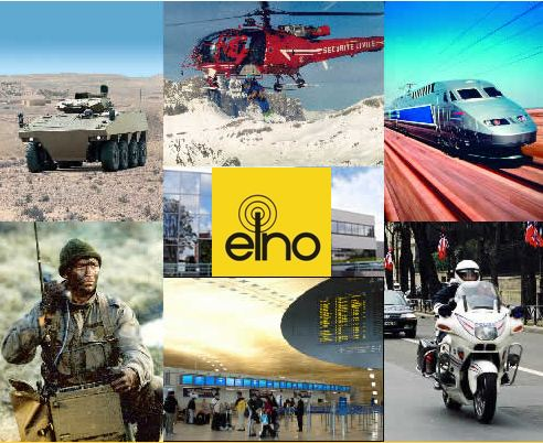 During IDEX 2011, ELNO exhibits his latest developments such as: Tactical headset for soldier using full bone conduction technology; Wireless technology for audio equipment; A new Active Noise Reduction tank helmet