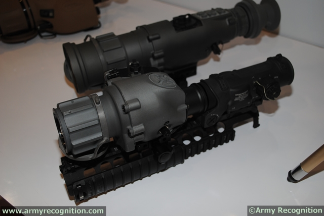 ABU DHABI (Feb. 19, 2013) — Raytheon Company is showcasing a new, clip-on Thermal Weapon Sight (TWS) at IDEX. The surveillance and targeting sight, which mounts in front of a rifle's existing sight without reducing targeting accuracy, delivers precise surveillance and advanced targeting imagery.