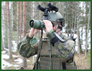 ABU DHABI, United Arab Emirates, (Feb. 18, 2013) — The Finnish Defence Forces awarded Raytheon Company a contract to procure PhantomIRxr® 17µm thermal biocular systems. The biocular uses thermal imaging to pinpoint targets through darkness, smoke and dust.