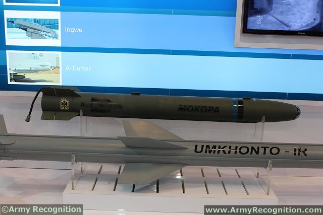 Denel Dynamics showcases a range of its tactical missile products at IDEX 2013, as the Mokopa anti-armour system, the Umkhonto-IT surface-to-air missile and the Ingwe laser-guided anti-tank missile. Denel Dynamics is part of the Denel Group, South Africa's largest manufacturer of defence equipment. A leader in advanced systems engineering technology, Denel Dynamics' core business covers tactical missiles, precision-guided weapons, unmanned aerial vehicle systems (UAVS), integrated air defence and related technology solutions.
