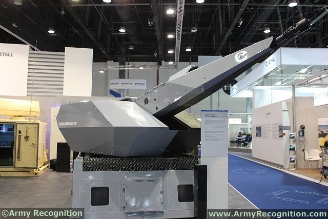 The Oerlikon Skyshield MOOTW/C-RAM system is Rheinmetall's answer to the threat from rockets, artillery and mortar (RAM)